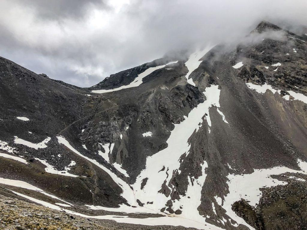 Looking towards Buller Pass