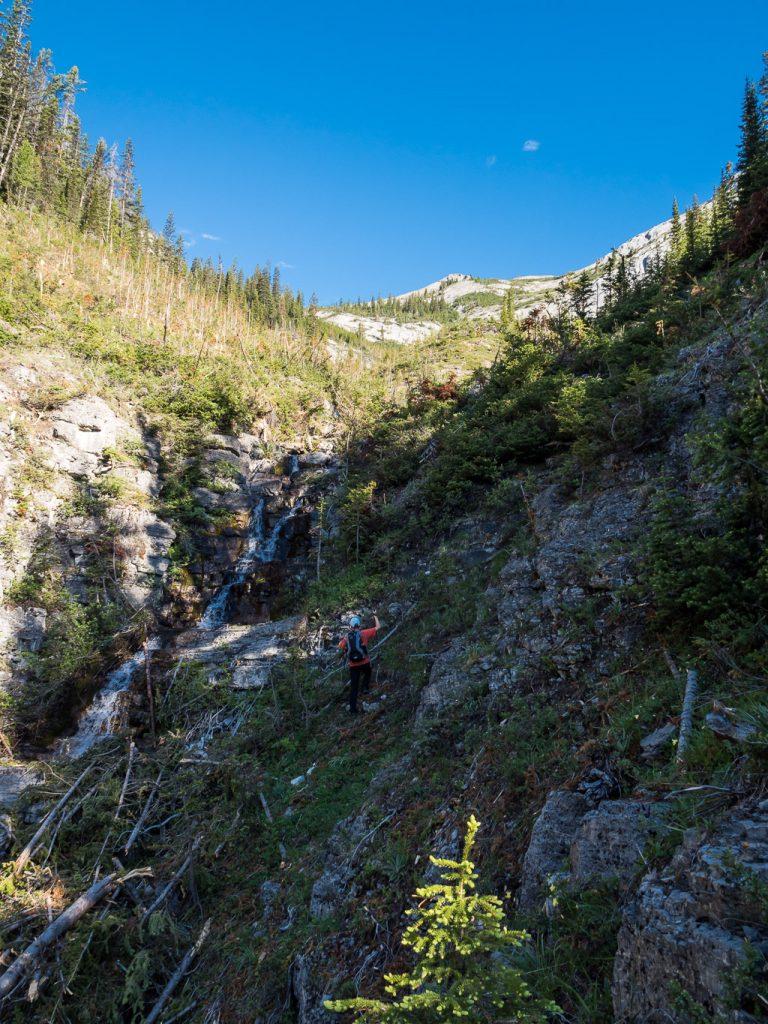 Despite the avalanche debris, the drainage was pretty straightforward traveling.