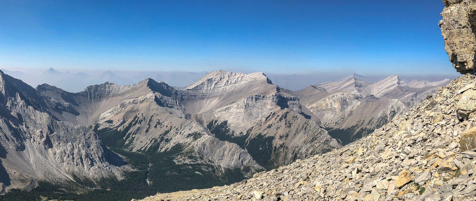 Ascending Pyriform Mountain.