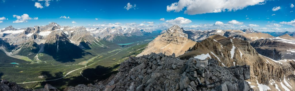 Summit views to Mount Weed.