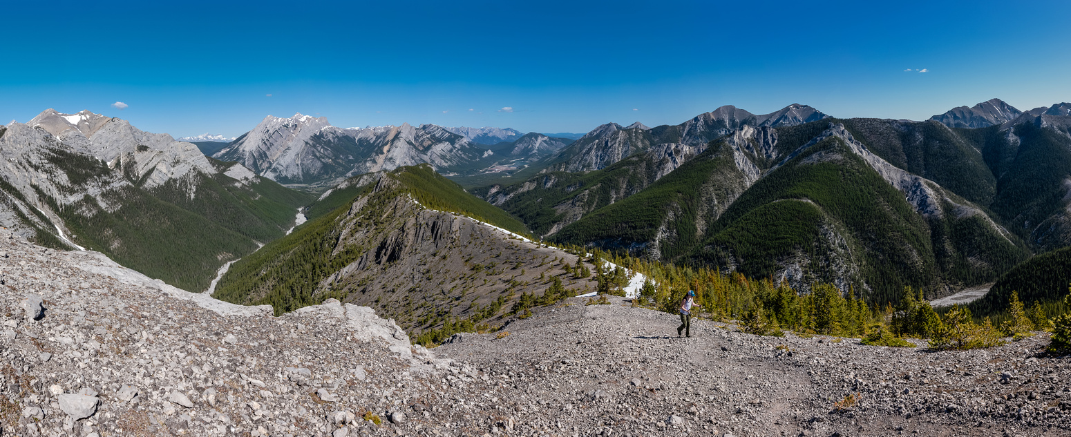 Wasootch Ridge Panorama